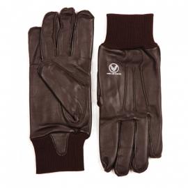 US Airforce gloves - echt bruin leder