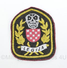 Kroatisch leger Legija embleem met Skull - origineel