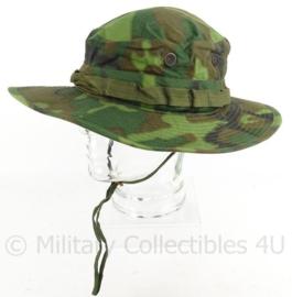 US Army Boonie hat Vietnam periode ERDL camo - Camo type 2 - 1968 - maat 6 7/8 - topstaat - origineel