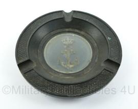 Koninklijke Marine asbak - 11,5 x 11,5 x 1 cm - origineel