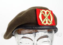 KL Nederlandse leger baret - Regiment Infanterie Chassé - maat 55 of 57 - origineel