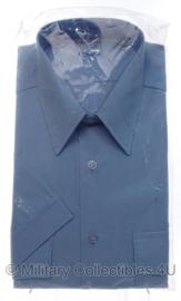 Nederlandse Gemeentepolitie DAMES overhemd BLAUW - nieuw in verpakking - korte mouw - maat 38 of 42 - origineel