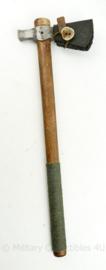 Survival Bushcraft Cold steel Tomahawk - lederen sheath - lengte 56 cm - origineel