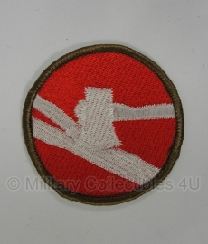 WWII US 84th Infantry Division patch - eigen aanmaak