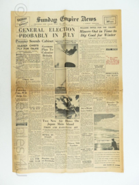 Sunday Empire  krant - 20 May 1945 - origineel