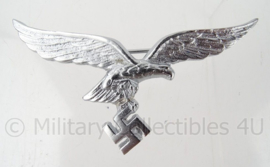 Luftwaffe zomer uniform borstspeld adelaar ZILVERKLEURIG - compleet