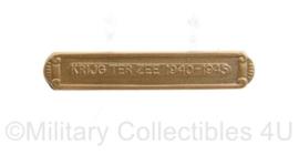 Defensie  metalen balk voor op de medaille Krijg ter zee 1940 1945 - 1 x 3,5 cm - origineel