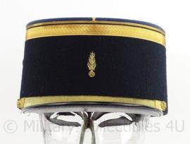 Franse Gendarmerie politie kepi - met embroidered insigne - maat 56 - maker: A.Soulie - origineel
