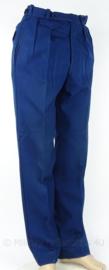 Korps Rijkspolitie of Gemeentepolitie oud model uniform broek Amsterdam - blauw - maat S - origineel