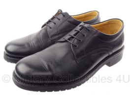 """KL DT nette schoenen """"DEFENSIE"""" - nieuw -  Schoen, man, Derby, zwart, rubberen zool - maat 40,5 tm. 47 - origineel"""