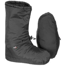 Insulated Tent Boots Bivakschoenen winddicht met opbergtas - ZWART