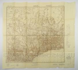 Duitse stafkaart Sonderausgabe 1940 - SSIMFEROPOLJ  L-36-XV West  -  98 x 89 cm.! - schaal 1:100000 - origineel