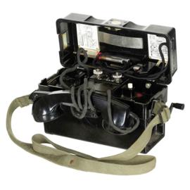 BW Bundeswehr veldtelefoon bakeliet - lijkt op wo2 model
