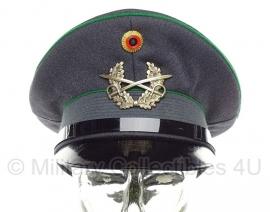 Bundeswehr leger pet met groene bies 1968 - maat 55 - origineel