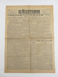 Krant de Nieuwbode - 14 september 1945 - origineel