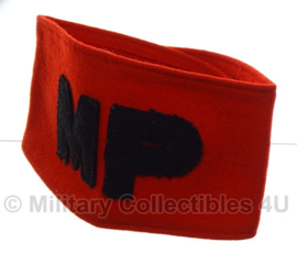Britse WO2 model Military Police MP armband Politie - origineel naoorlogs