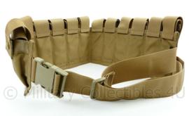 KL Nederlandse Leger profile equipment 40mm grenade belt Coyote - 98 x 16 x 3 cm - NIEUW - origineel