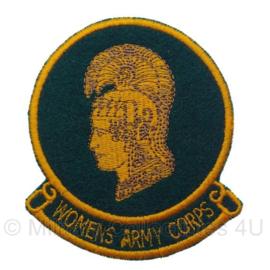 WO2 US WAC Womens Army Corps embleem - 9,5 x 8 cm
