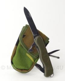 KL / Luchtmacht / Marine zakmes Victorinox MET tas - licht gebruikt  - origineel
