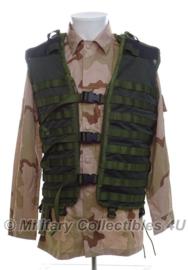 KL Korps Mariniers modulair gevechtsvest - Molle - zonder tassen - Forest camo - ongebruikt - maat Medium - origineel