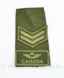 Canadian Airborne Regiment epaulet ENKEL - 11 x 6,5 cm - origineel