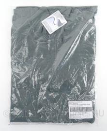 KL Koninklijke Landmacht ondershirt lange mouw met col thermisch WARM WEER - grijs/groen - maat L - nieuw in verpakking - origineel