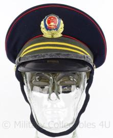 Chinese Politie pet - maat 56 - origineel