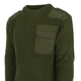 Commando trui GROEN  - nieuw gemaakt