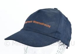 Klu Luchtmacht vliegbasis Woensdrecht donkerblauwe baseball cap - one size -