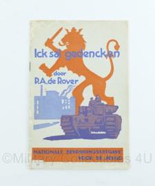 Boekje ICK Sal Gedencken Nationale Bevrijdingsuitgave voor de jeugd 1945 - origineel