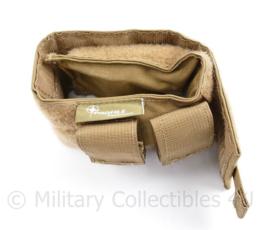 Defensie en Korps Mariniers coyote Profile Equipment kolfsteun NIEUW - 12 x 8 x 10 cm - origineel