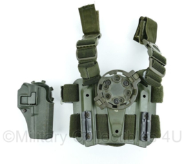 Blackhawk tactical dropleg holster platform - met quick disconnect kit en serpa  CQC holster  origineel