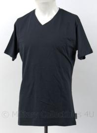 Modern grijsblauw T-shirt Chaud Devant Coolmax T-shirt met V hals - Coolmax / katoen/elastine - nieuw in verpakking - maat S tm. XXL