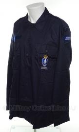 KMAR Koninklijke Marechaussee Donkerblauw Overhemd VT lange mouwen MET insignes - meerdere maten - (NIEUW) in verpakking - origineel
