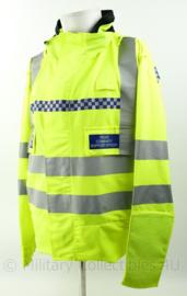 Britse Politie Hertfordshire Constabulary PCSO jacket lightweight High Visability - nieuw - Large Short - origineel