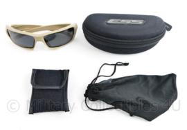 ESS Rollbar Terrain Tan goggle met 4 soorten glazen! en toebehoren - 7 x 5,5 x 7 cm - origineel
