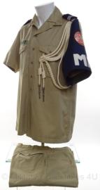 KMAR Koninklijke Marechaussee Police SINAAI uniform set - maat jas 41 en maat broek 53 3/4 - origineel