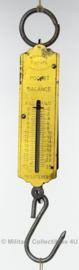 Antieke Rebüre pocket balance draagbare weegschaal - tot 25 kg - origineel