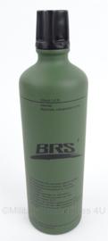KL Nederlandse leger brandstof fles 1L - merk BRS - gebruikt - origineel