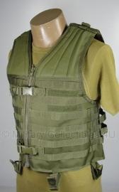 Modulair USMC gevechtsvest - Molle - zonder tassen - groen