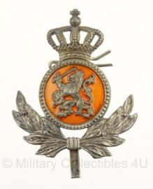 KMAR Koninklijke Marechaussee onderofficier pet insigne - 5 x 4 cm. - origineel