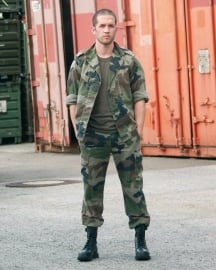 Franse leger F2 camo broek CCE camo - NIEUW IN DE VERPAKKING - origineel