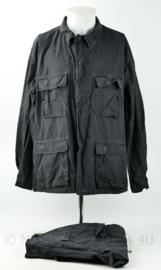US Army zwart BDU uniform set Special Forces - Zeldzame set voor bewakers en Special Forces - origineel