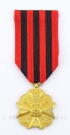 Belgische Burgerlijk ereteken goud medaille  - Origineel