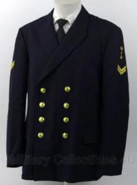 Koninklijke Marine jas Bonker - maat 51 3/4 uit 1993 - rang Korporaal - origineel