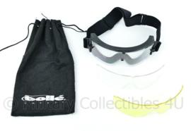 Special Forces bril  Bolle Tactical X800III Goggles met tas en nieuwe + extra glazen!- merk Bollé Safety - origineel