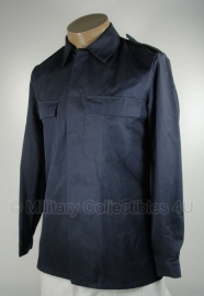 KMAR Marechaussee uniform jas - zonder insignes - borstomtrek maat Small, 8000/9500  of 108  - donkerblauw - origineel