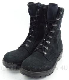 KMAR Marechaussee en Nederlandse Politie stoffen jungle boots - zwart - maat 255M = 40M - ongedragen - origineel