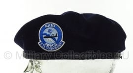 AWACS NATO Air Base E-3A MP Military Police BARET - origineel