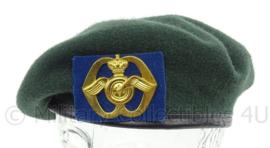 KL Landmacht DT2000 baret met insigne Aan en Afvoer Troepen - maker KPU - maat 58 - origineel